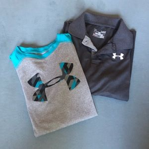 Youth under armour shirt bundle